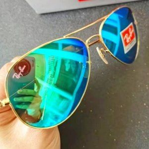 Ray-Ban 3026 62mm Blue lenses